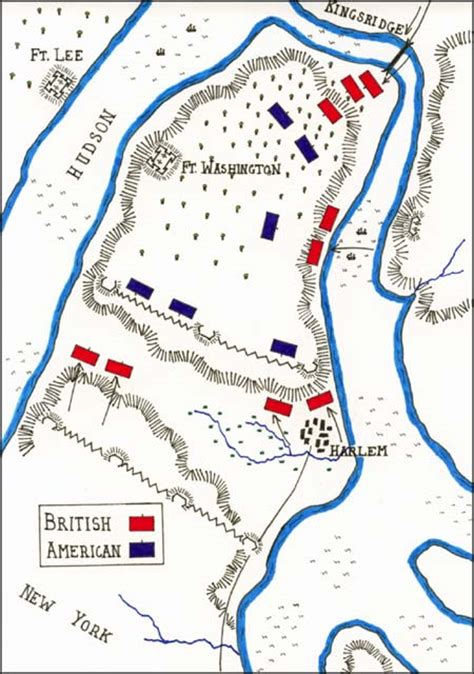 map of revolution battles battle of fort washington map by fawkes 1776