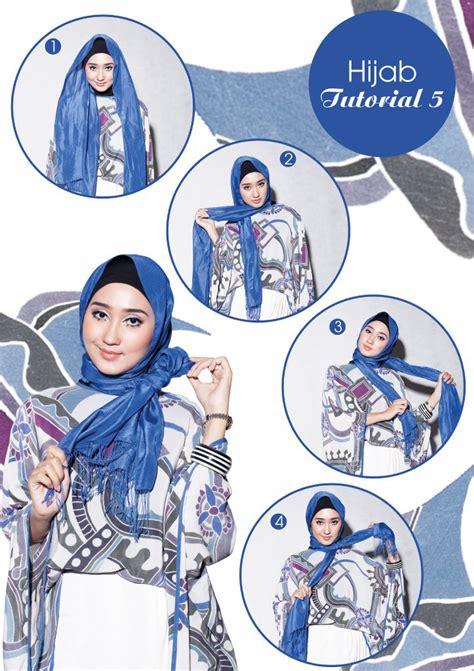 tutorial hijab pramugari ala dian pelangi pop batik hijab tutorial dian pelangi hijab style