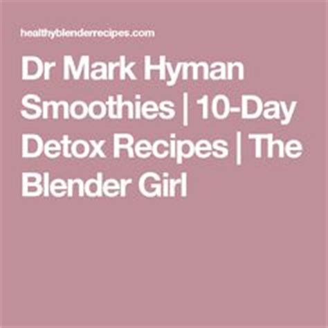 Dr Hyman 21 Day Detox by 10 Day Detox One Sheet 1 Tbsp Chia Seeds 1 Tbsp Hemp Seeds