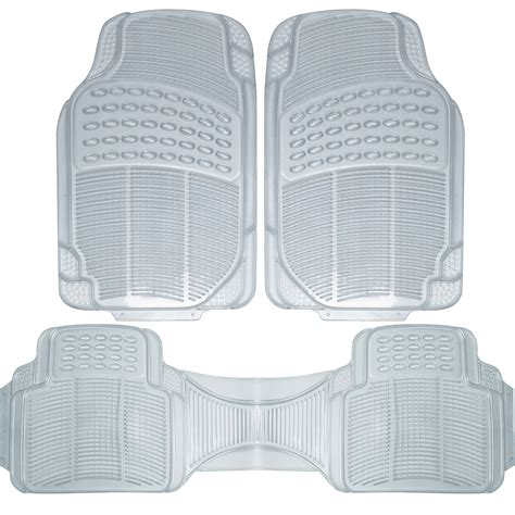 auto floor mats  ford car truck suv van pc full set  weather rubber clear ebay