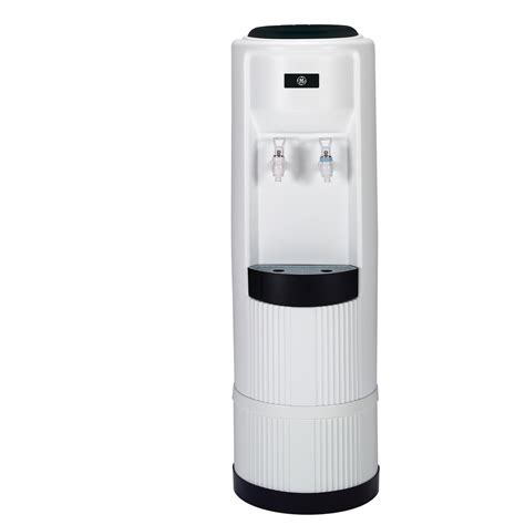 room temperature water cooler gxcf03e ge 174 cold and room temperature free standing water dispenser the monogram collection