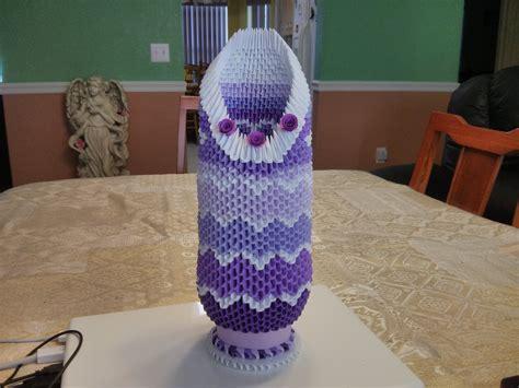 Origami 3d Vase - 3d origami vase 3dorigami