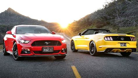Car Lease Types Australia by Ford Mustang Joins Hertz Rental Fleet In Australia Car