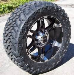 Mud Tires For 18 Inch Rims 18 Inch Xd Wheels Rims Nitto Mud Grappler 33 Tires Chevy