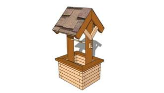 wishing well planter plans free outdoor plans diy shed