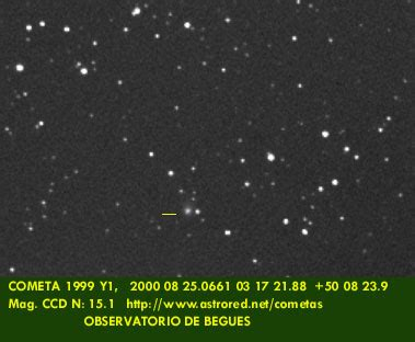 baa comet section baa comet section comets of 1999