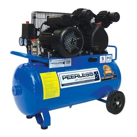 peerless p17 17cfm electric air compressor gasweld