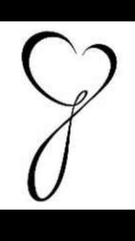 the letter j tattoo designs infinity cursive quot j quot tattoos i