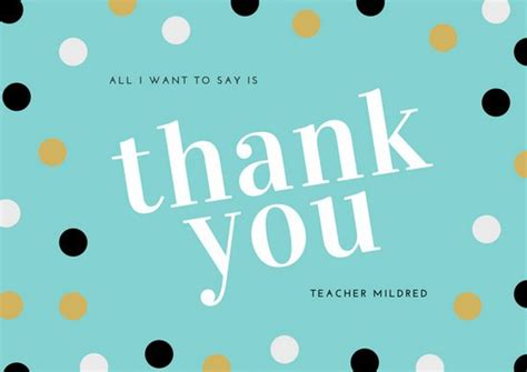 thank you card for from student template customize 3 561 thank you card templates canva