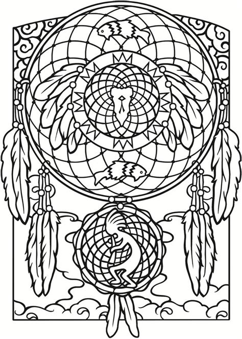 hair dreams coloring book for adults books 17 b 228 sta bilder om dreamcatcher coloring pages for adults