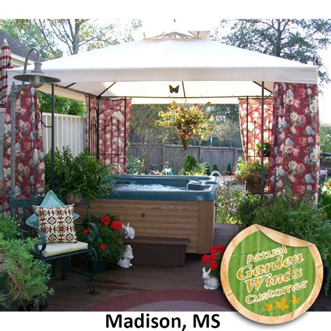home depot arrow gazebo replacement canopy cover