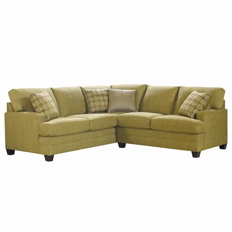 2 L Shaped Sectional by Bassett Cu 2 L Shaped Upholstered Sectional Becker