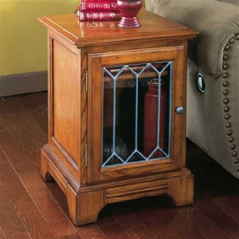 End Tables On Sales May 2010 End Table With Glass Door