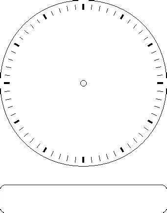 blank clock template blank clock worksheet clipart best