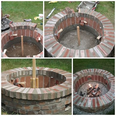 Diy Brick Firepit Jemstaa Diy Brick Pit In One Weekend