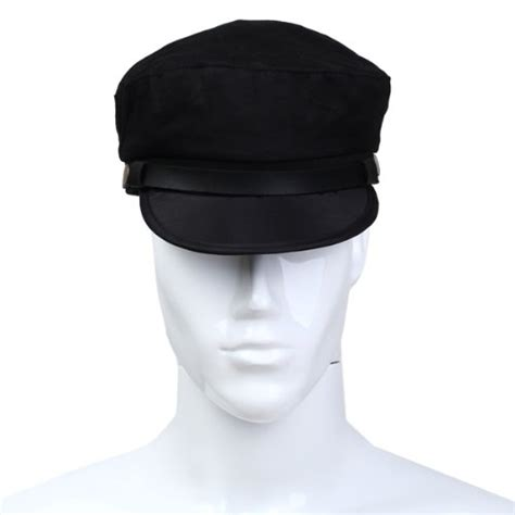 Captain Cap Cooper 2 eas captain sailor marine cap cotton color black new in hats from s clothing