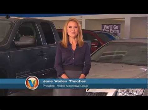 Vaden Suzuki Vaden Thacher President Of The Vaden Automotive