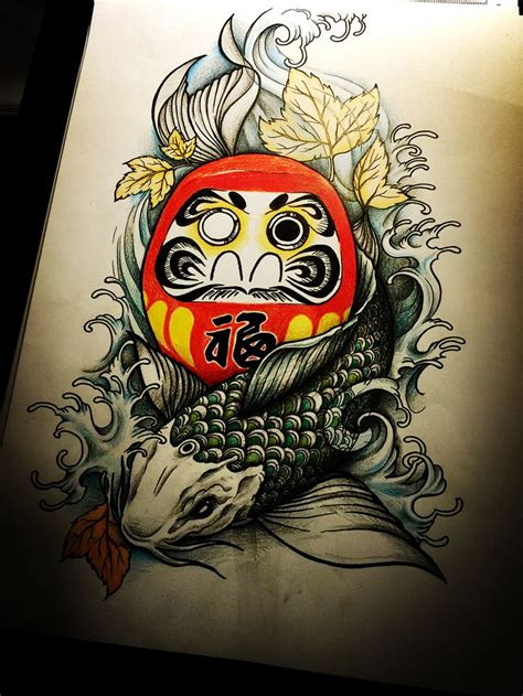 daruma doll tattoo designs and japanese 10 handpicked ideas to discover in