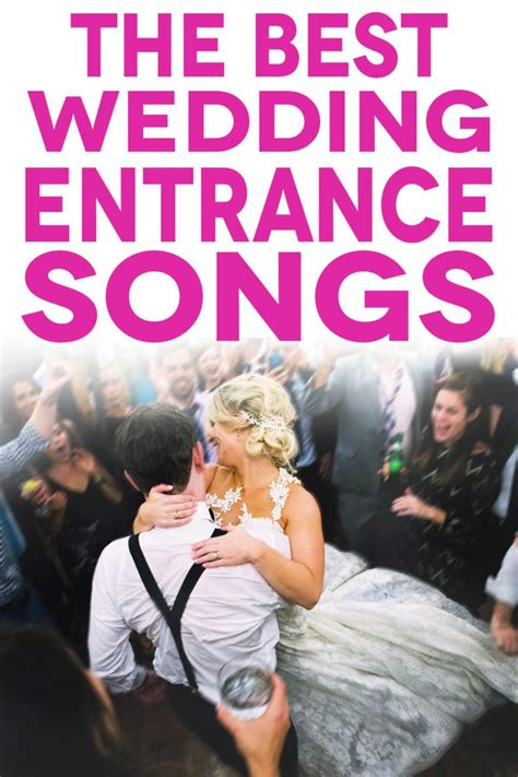 wedding entrance songs    party started
