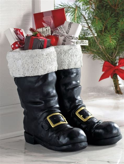 top 40 decoration ideas with santa boots christmas