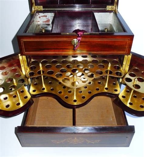 antique humidor cabinet for sale magnificent antique inlaid rosewood cigar cabinet