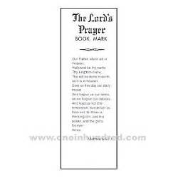 Rolls Royce Pension Scheme Booklet The Lord S Prayer Bookmark