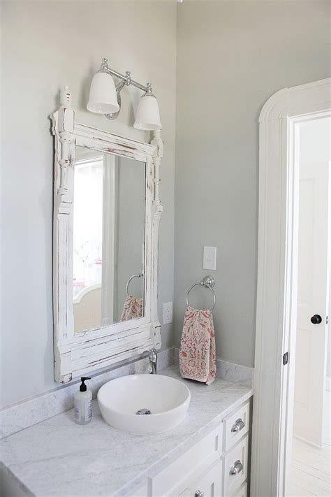 farmhouse bathroom vanity mirror farmhouse in by magnolia homes paint colors bathroom vanity mirrors and magnolia homes