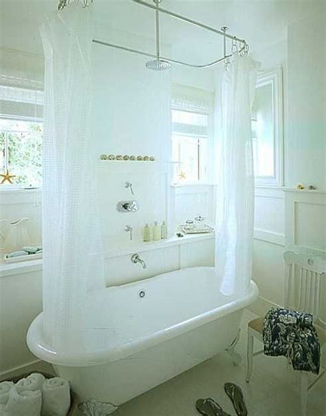 shower curtain clawfoot tub solution shower curtain rod solution for claw foot tub guest bath