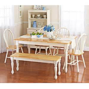 Walmart Kitchen Table Better Homes And Gardens Farmhouse Table Walmart