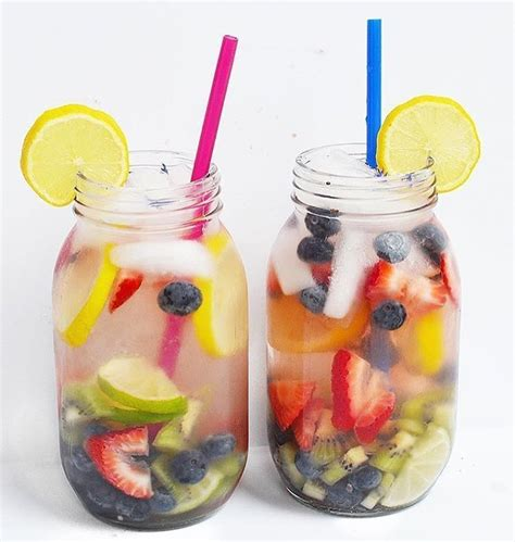 Fruits Detox by Detox Water Recipes To Burn And Cleanse Your