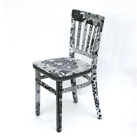 decoupage chairs decoupage mod podge decoupage black and