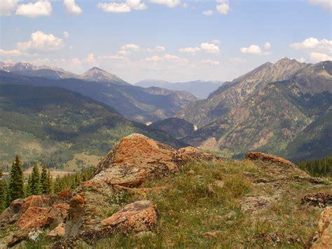 colorado mountain landscape of copper mountain colorado
