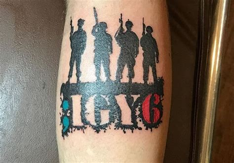 igy6 forearm tattoo veteran ink