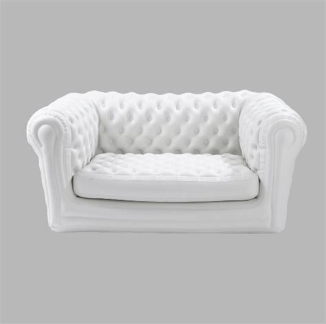 canapé chesterfield blanc canap 201 chesterfield gonflable blanc m2b gonflable