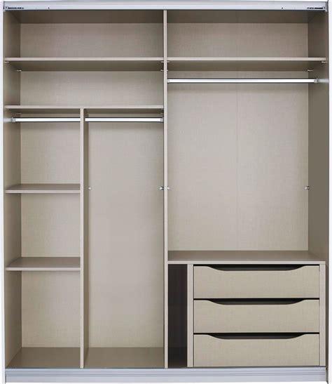 malix cm sliding wardrobe premium interior package