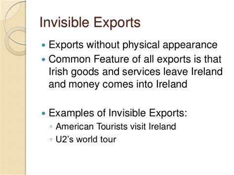 Visible And Invisible visible and invisible trade slide show