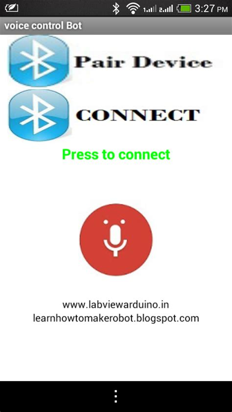 reset android voice recognition arduino and android voice control robot how to make a