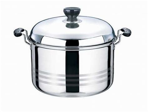 Panci America High Pots stainless steel soup pot stainless steel american style pot high pot 22 24cm insoup stock pots