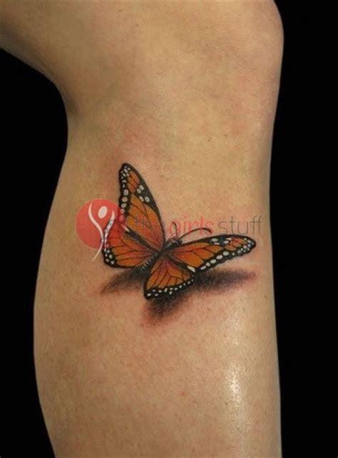 3d tattoo woman s leg 3d butterfly tattoos on leg images the girls stuff