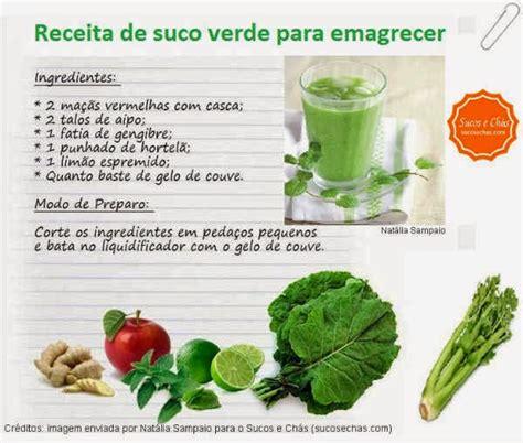 Receita De Suco Detox Para Emagrecer by Receita De Suco Verde Para Emagrecer Sucos E Ch 225 S