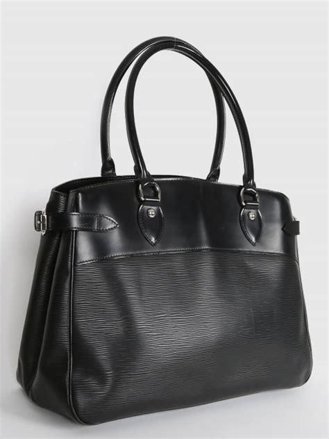 Louis Vuitton Epi Leather Collection by Louis Vuitton Passy Gm Epi Leather Noir Luxury Bags