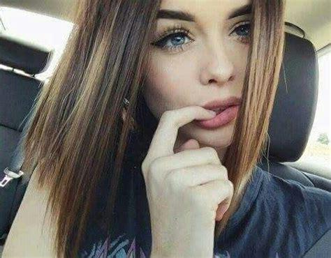 natalie brown hair blue eyes girl beautiful blue eyes girl tumblr image 3792038 by
