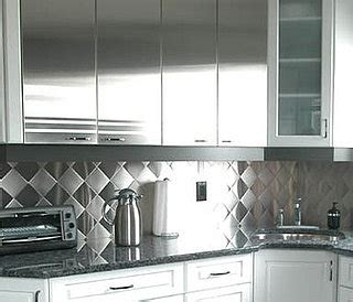stainless steel backsplashes it or it