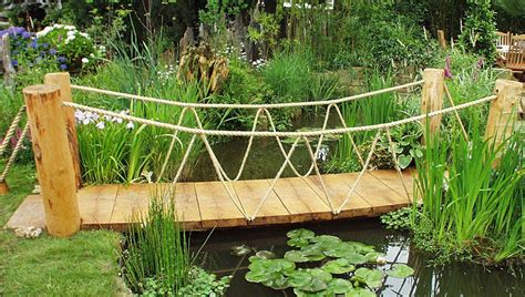 backyard bridge designs garden bridge ideas landscape garden designers reading berkshire pete sims