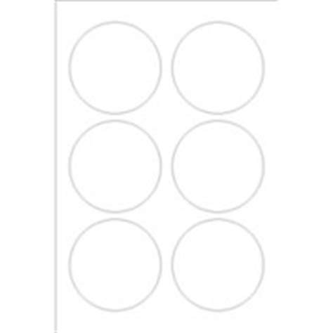 templates print to the edge round foil labels 6 per 4