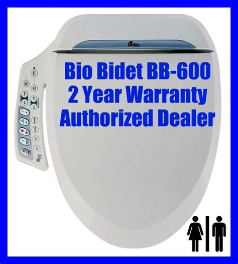 bio bidet bb 600 bio bidet bb 600 elongated electronic toilet seat heated