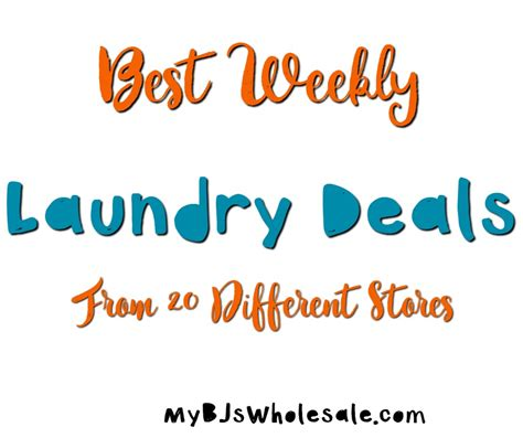 Web Deal 20 At Laundry by The Best Laundry Detergent Deals This Week From 20 Area