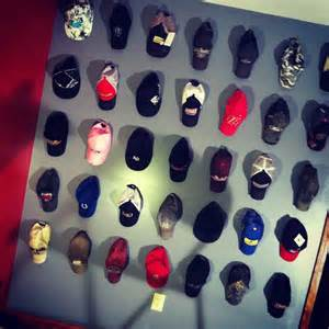 hat wall hat rack a hats lol and wall