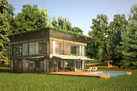 ecological homes philippe starck riko unveil prefab p a t h eco homes in