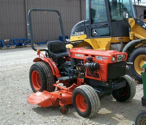 kubota b7100 1990 kubota b7100 tractors compact 1 40hp